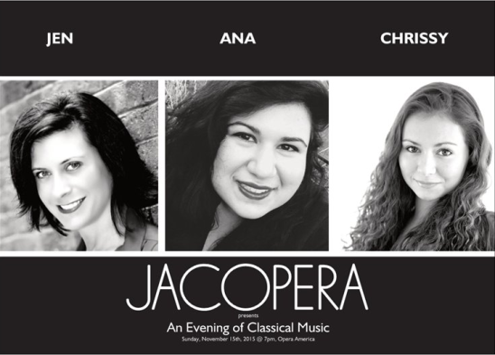 JACOPERA Concert - Click for tickets